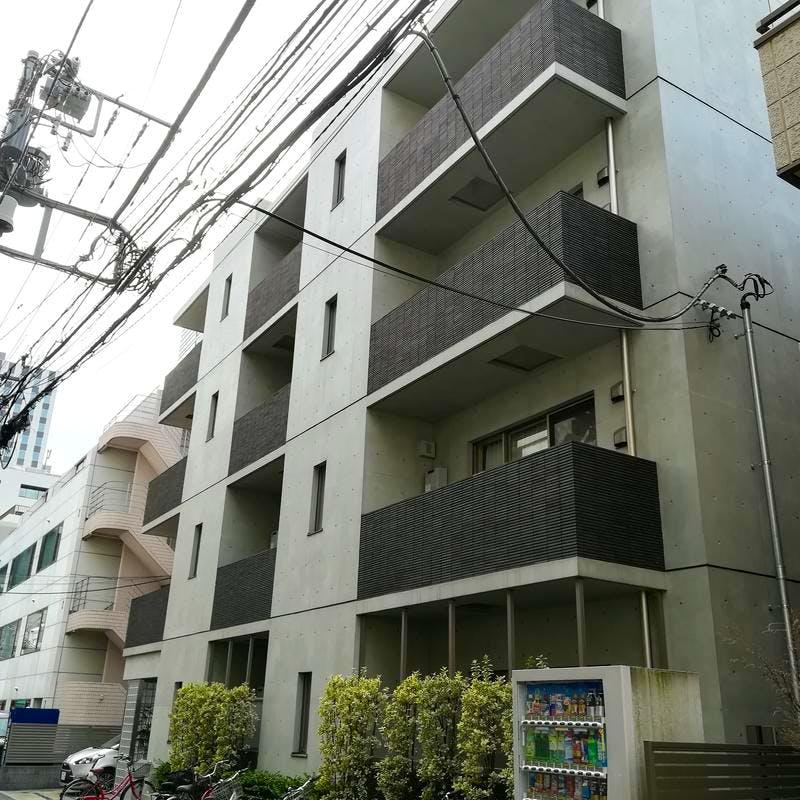 グリーニエ西新宿弐番館 外観