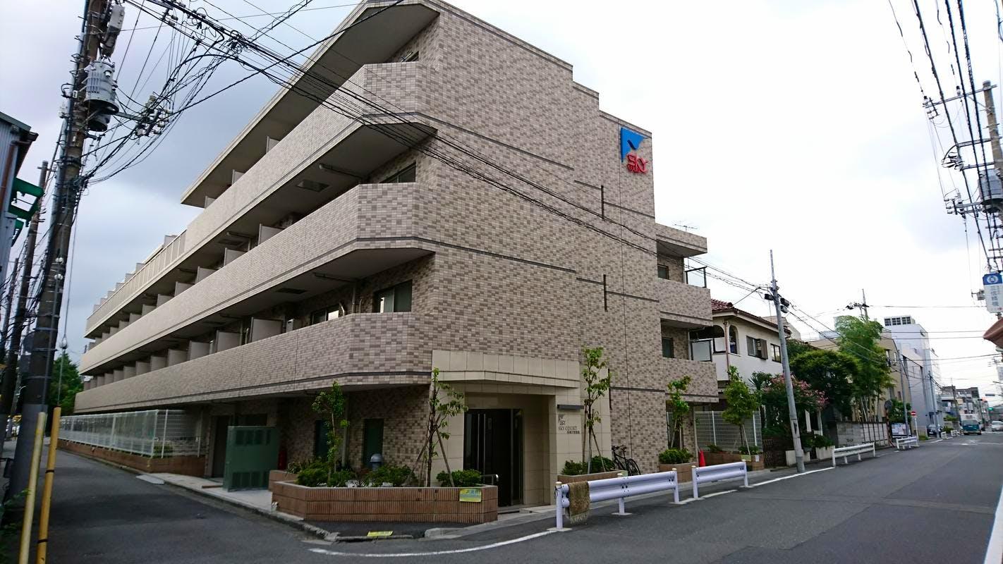 スカイコート多摩川壱番館 外観