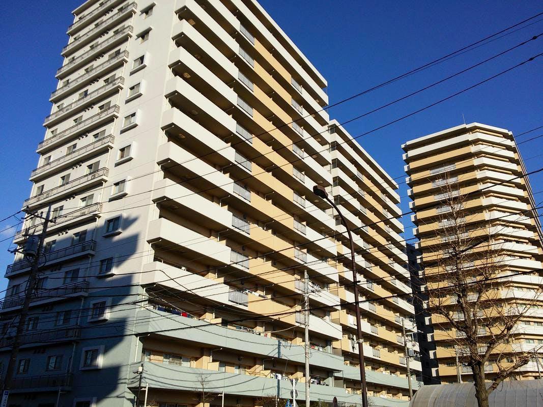 ライオンズタワー竹の塚ガーデン 外観