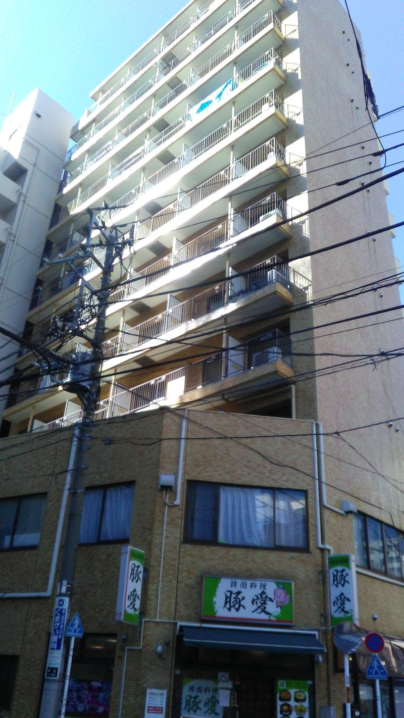 ライオンズマンション駒込駅前 外観